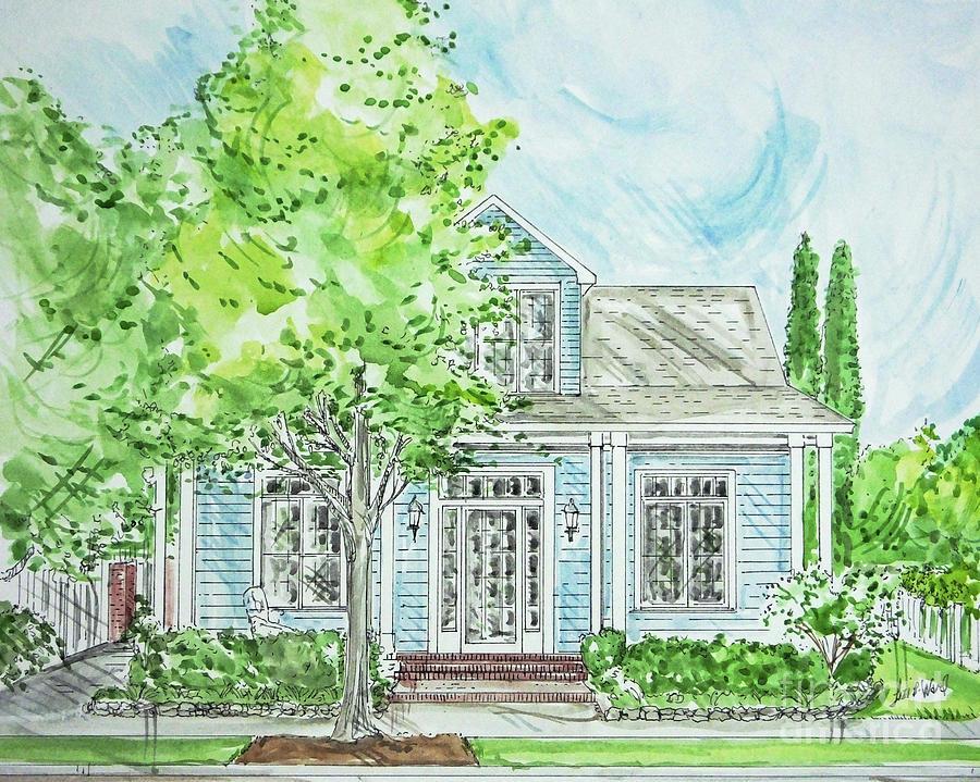 House Rendering Sample 45 by Lizi Beard-Ward