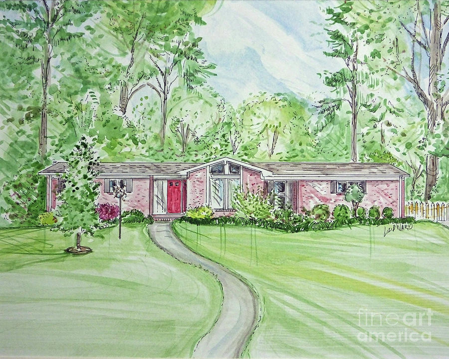 House rendering sample 48 by Lizi Beard-Ward