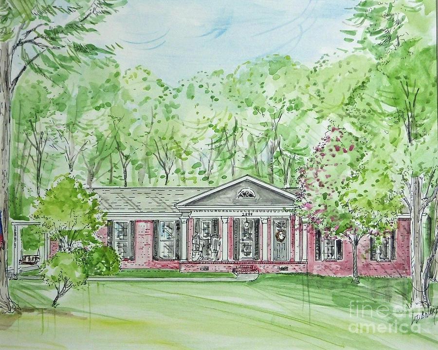 House Rendering Sample 49 by Lizi Beard-Ward