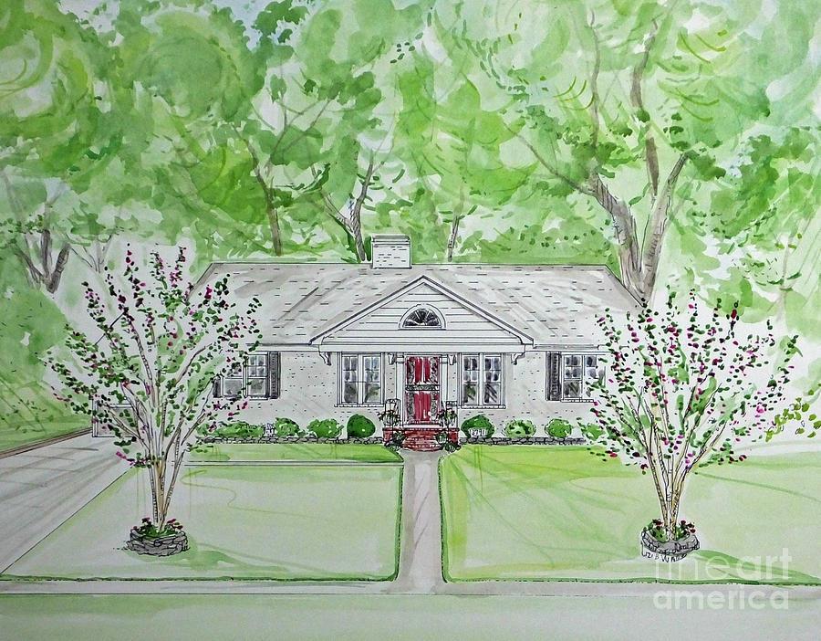 House Rendering Sample 50 by Lizi Beard-Ward