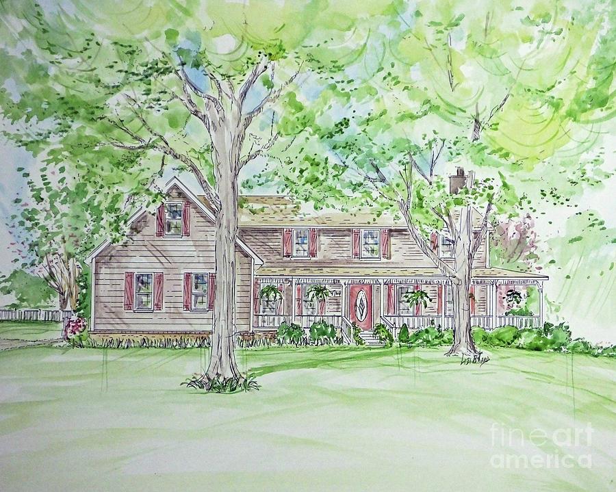 House rendering Sample 51 by Lizi Beard-Ward