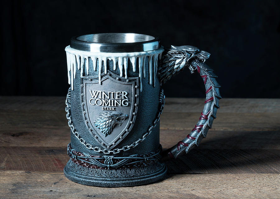 House Stark tankard from Game of Thrones series by Steven Heap