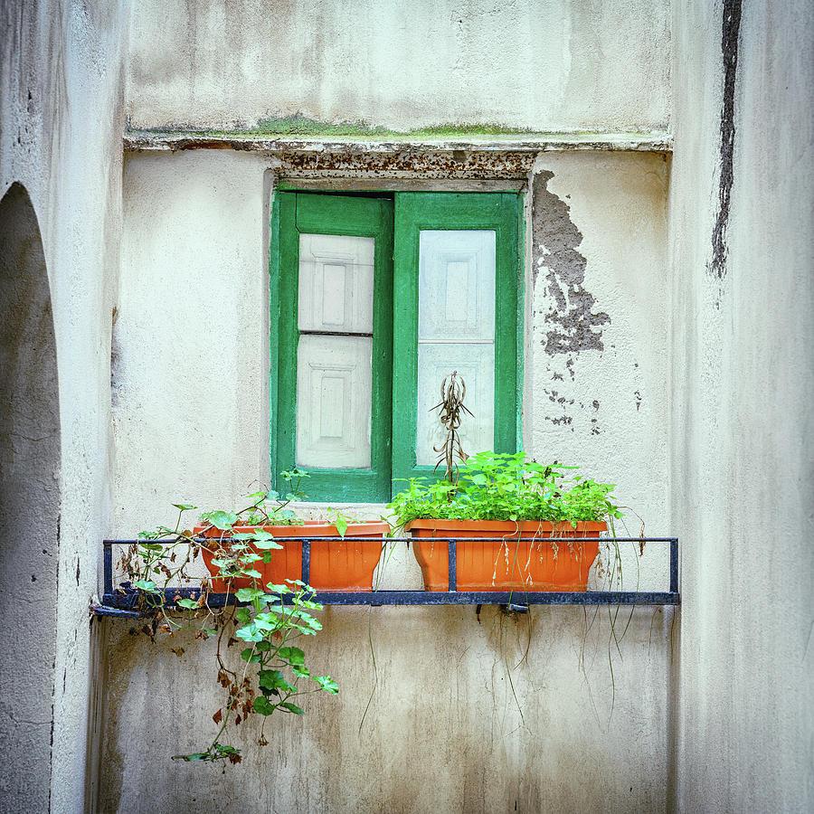 House Window In Salina Photograph