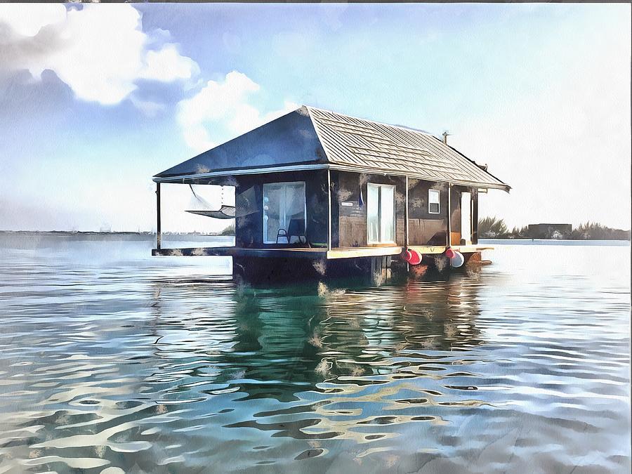 Houseboat by Harry Warrick