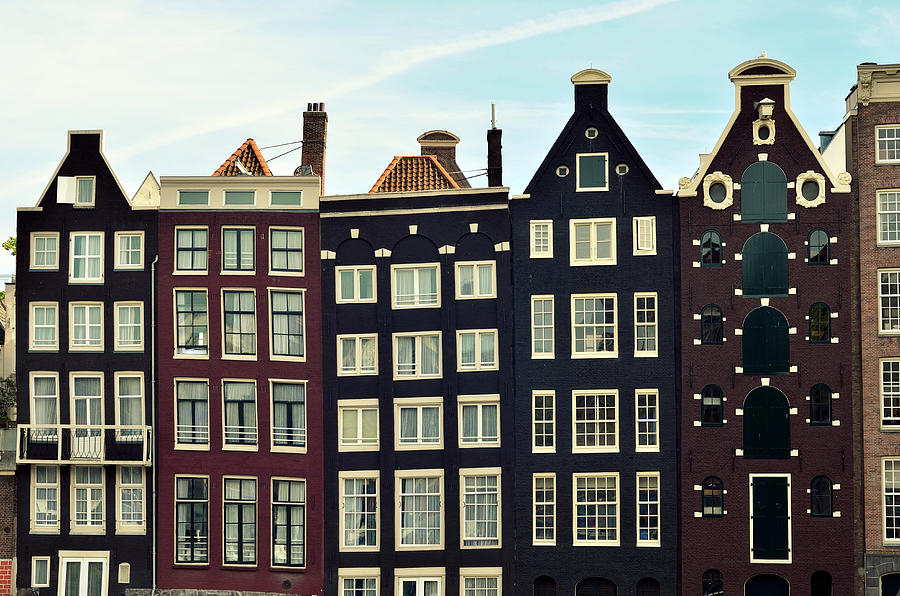 Houses In Amsterdam, Netherlands Photograph by Photo By Ira Heuvelman-dobrolyubova