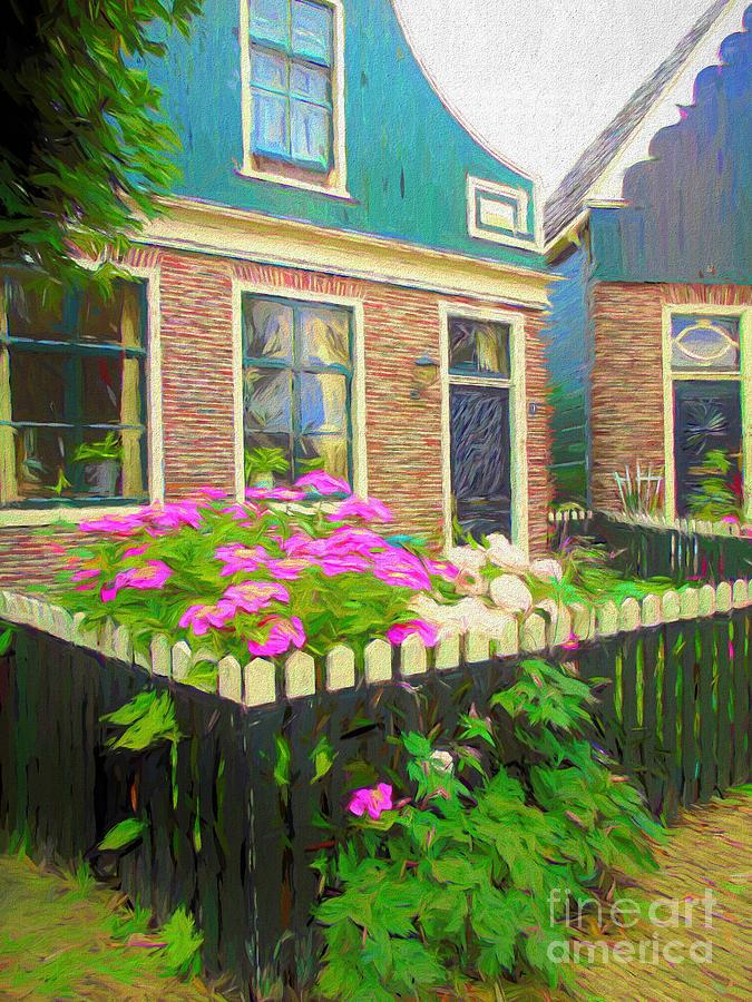 Houses in Zaanse Schans by Susan Lafleur