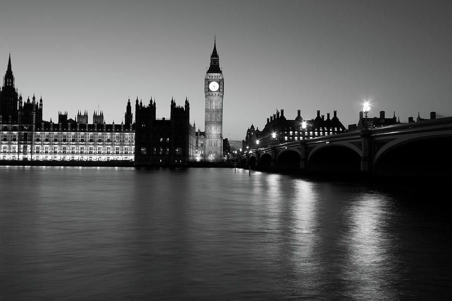 Houses Of Parliament In London, England Photograph by Davidcallan