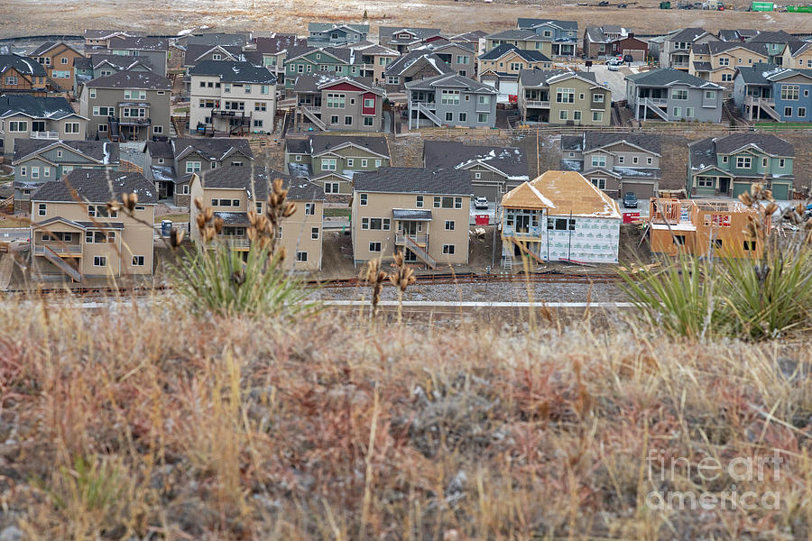 Nobody Photograph - Housing Near Former Nuclear Weapons Plant by Jim West/science Photo Library