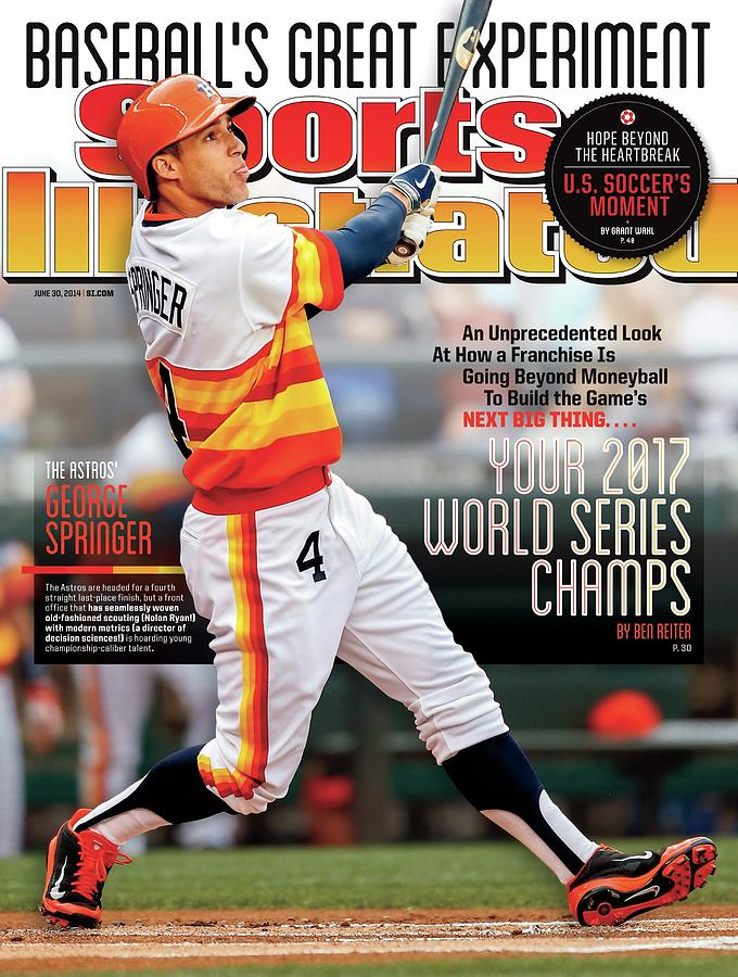 Houston Astros Baseballs Great Experiment Sports Illustrated Cover Photograph by Sports Illustrated
