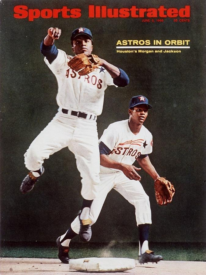Houston Astros Joe Morgan And Sonny Jackson Sports Illustrated Cover Photograph by Sports Illustrated