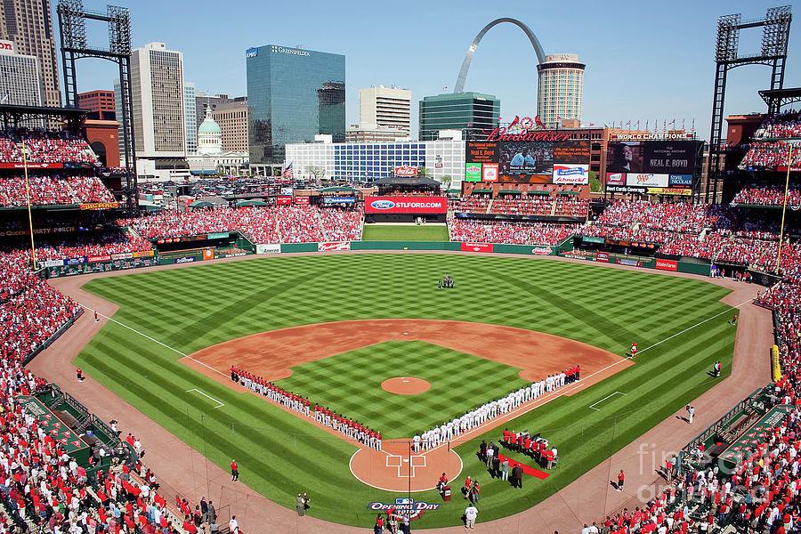 Houston Astros V St. Louis Cardinals Photograph by Dilip Vishwanat