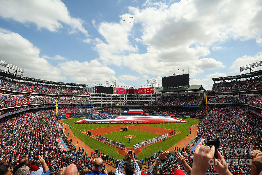 Houston Astros  V Texas Rangers Photograph by Richard Rodriguez