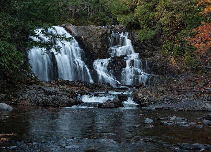 Houston Brook Falls by Rick Hartigan