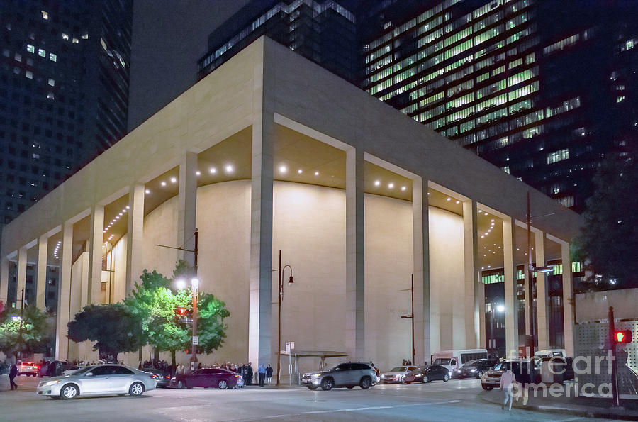 Houston Jones Hall by Norman Gabitzsch