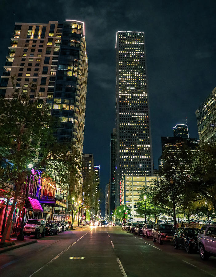 Houston Night Life by Dan Sproul