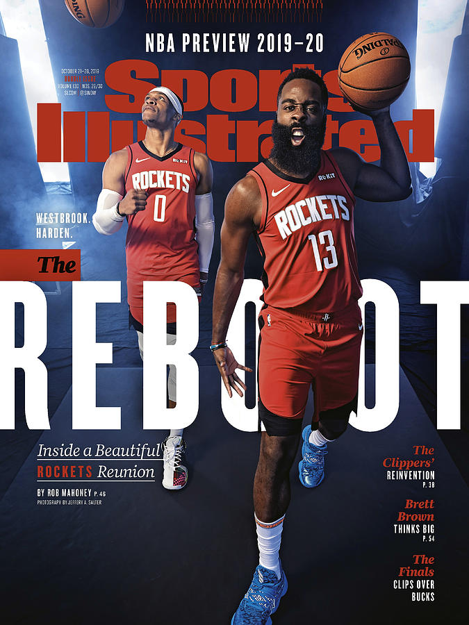 Houston Rockets, 2019-20 Nba Basketball Preview Sports Illustrated Cover Photograph by Sports Illustrated