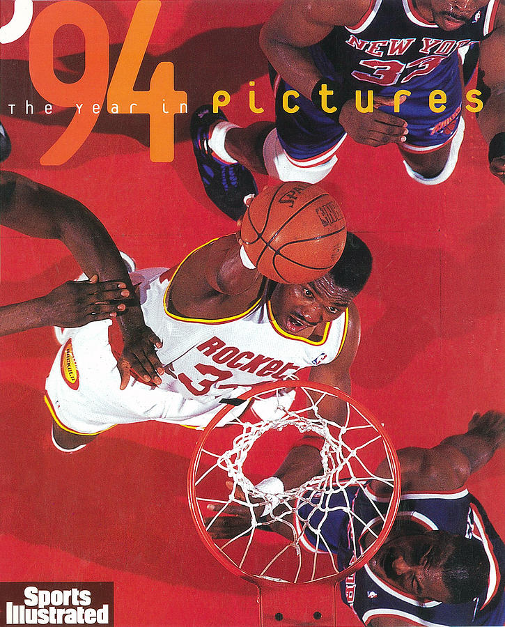 Houston Rockets Hakeem Olajuwon, 1994 Nba Finals Sports Illustrated Cover Photograph by Sports Illustrated