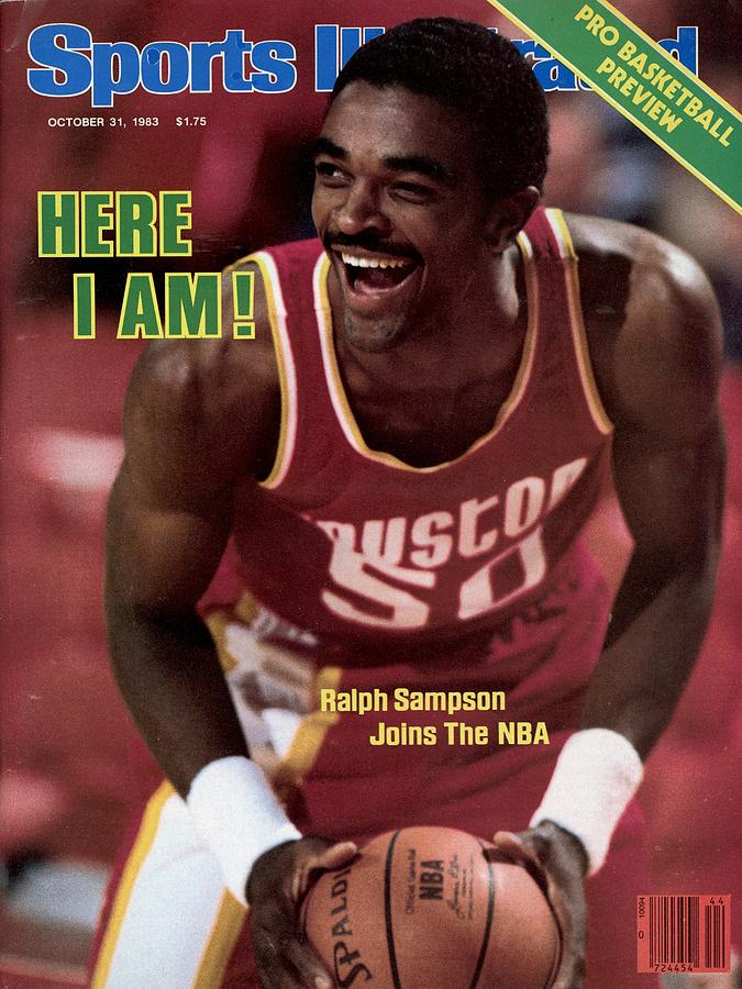 Houston Rockets Ralph Sampson... Sports Illustrated Cover Photograph by Sports Illustrated
