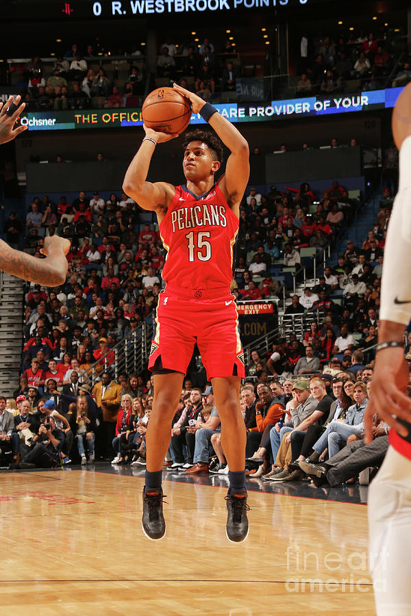 Houston Rockets V New Orleans Pelicans Photograph by Layne Murdoch Jr.