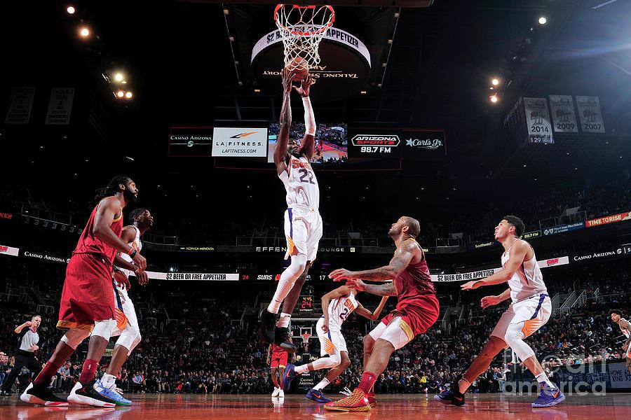 Houston Rockets V Phoenix Suns Photograph by Barry Gossage