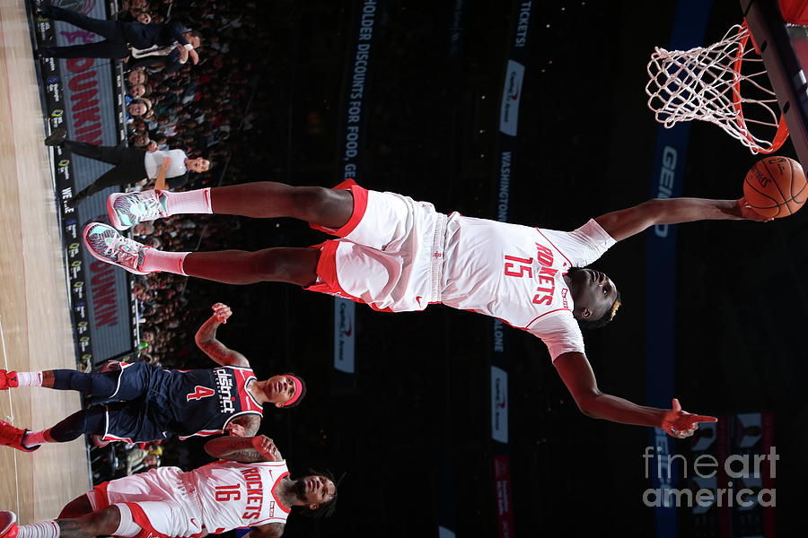 Houston Rockets V Washington Wizards Photograph by Ned Dishman