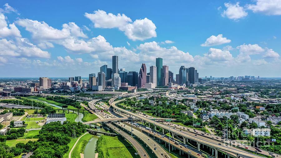 Houston Skyline Photograph
