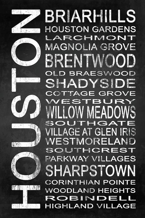 Houston Digital Art - Houston Tx 7 by Melissa Smith