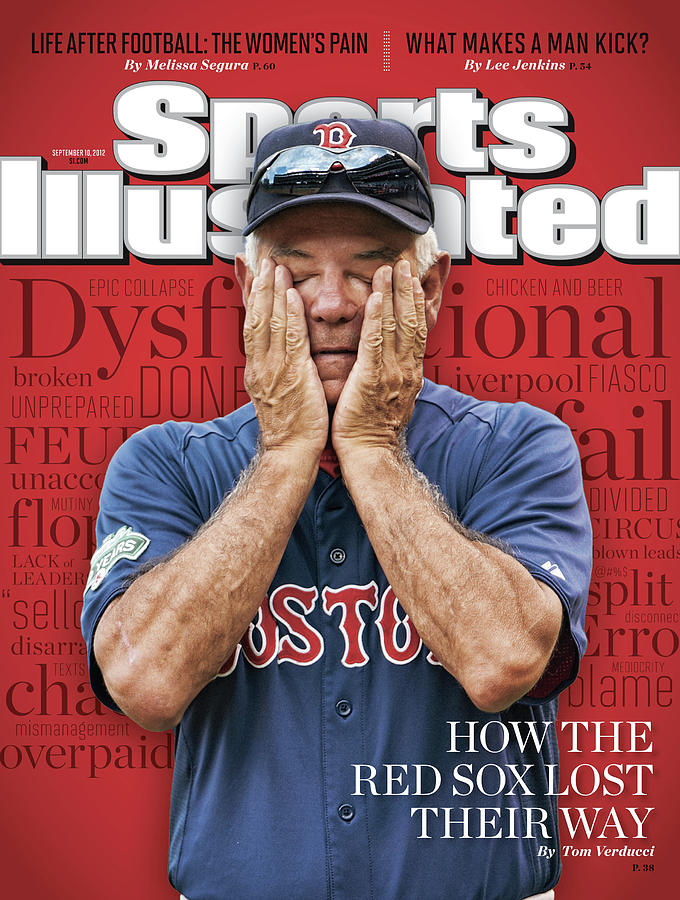 How The Red Sox Lost Their Way Sports Illustrated Cover Photograph by Sports Illustrated