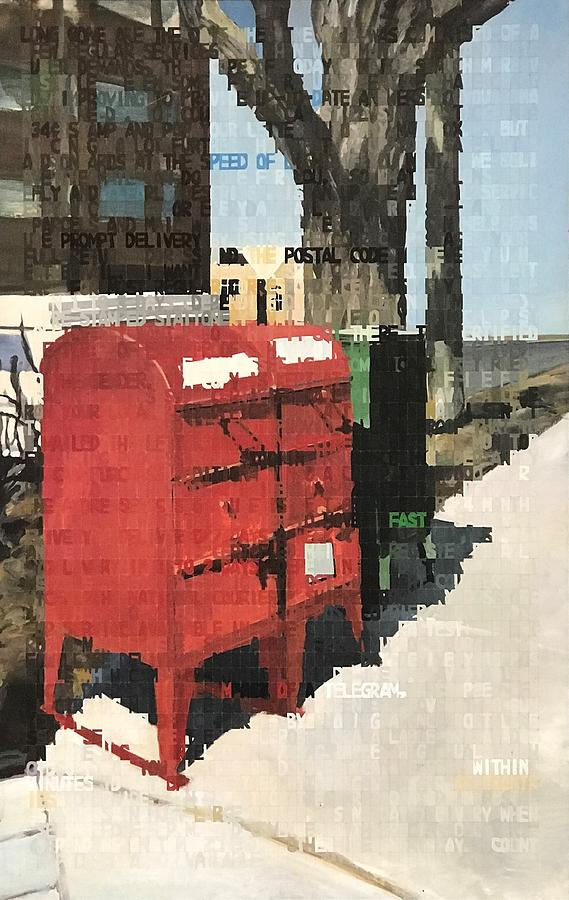 Mailbox Painting - How To Use The Mail by Norman Burnham