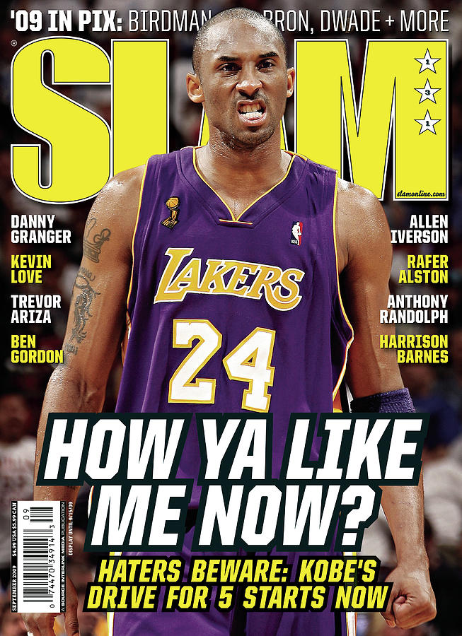 How Ya Like Me Now? SLAM Cover Photograph by Getty Images