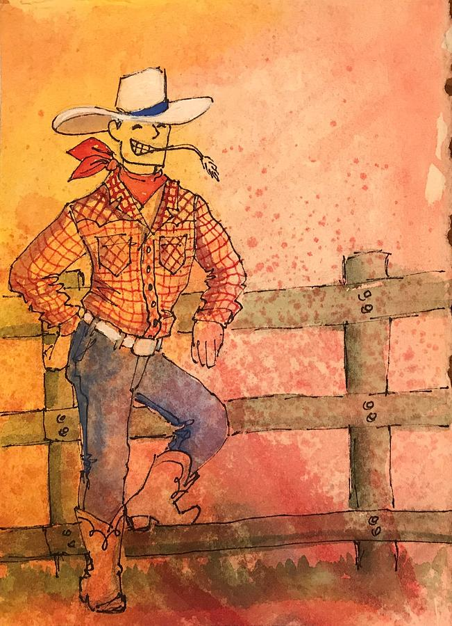 Howdy by Marilyn Jacobson