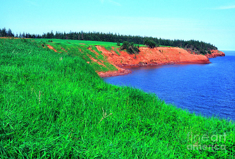 Howe Point Prince Edward Island by Thomas R Fletcher