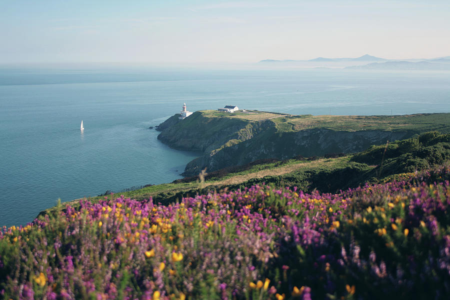 Howth_ireland Lighthouse Photograph by Rosalba Porpora
