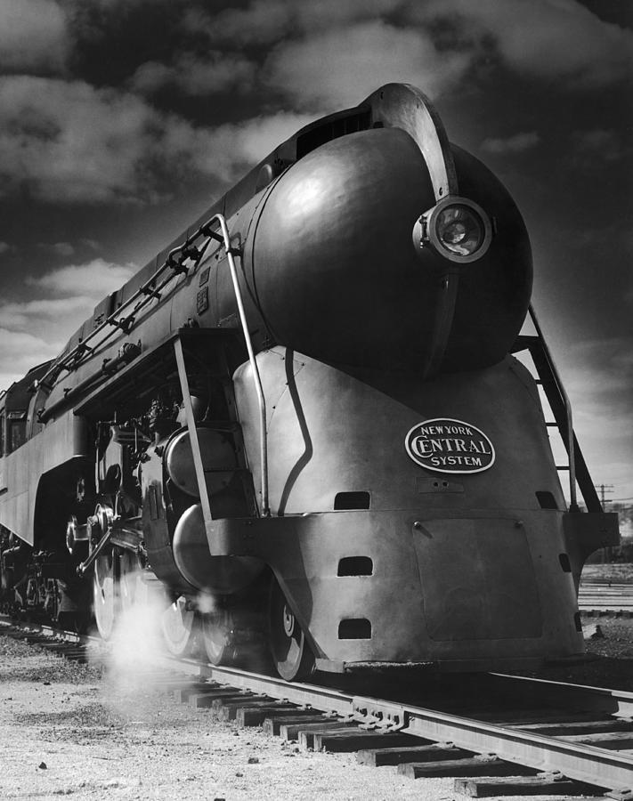 Hudson Steam Loco Photograph by Lionel Green
