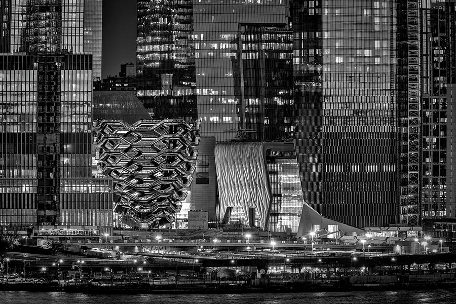 Hudson Yards Vessel NYC BW by Susan Candelario