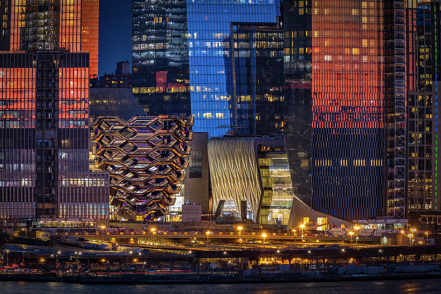 Hudson Yards Vessel NYC  by Susan Candelario