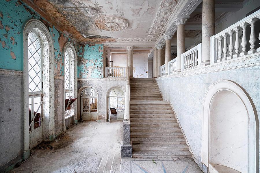 Huge Abandoned Staircase by Roman Robroek