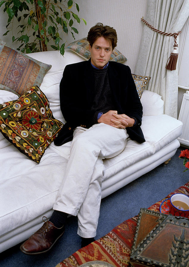 Hugh Grant At Home by Shaun Higson