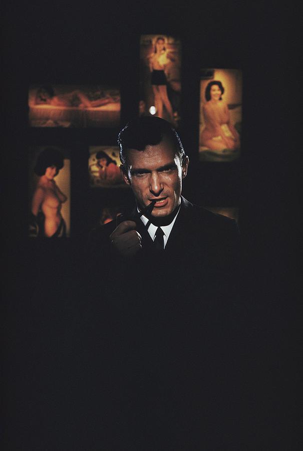 Hugh Hefner Photograph by Slim Aarons