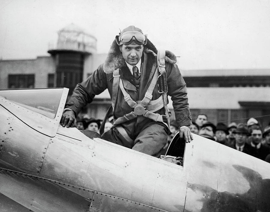 Hughes Boards His Plane Photograph by Time Life Pictures