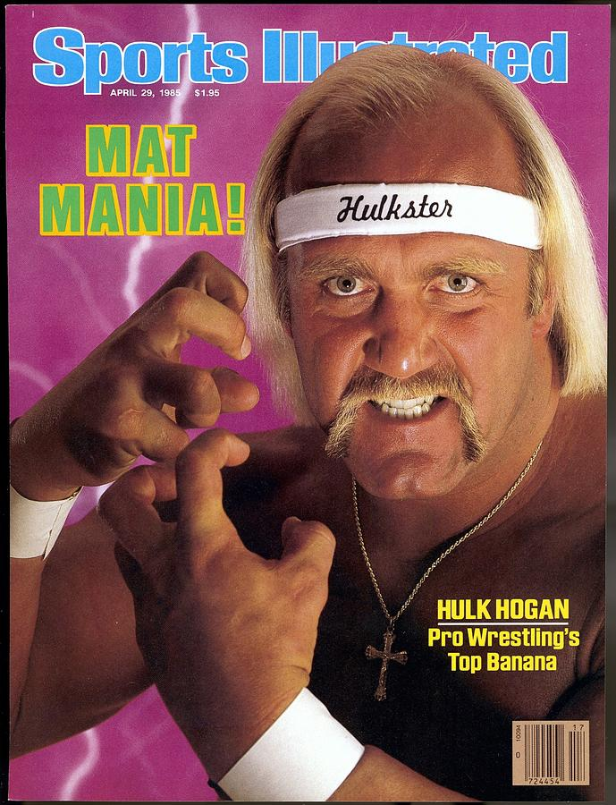 Hulk Hogan, Wwf Professional Wrestling Sports Illustrated Cover Photograph by Sports Illustrated