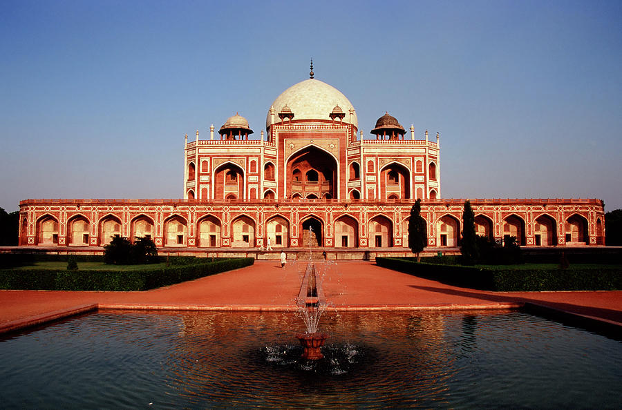 Humayuns Tomb, Delhi Photograph by Kelly Cheng Travel Photography