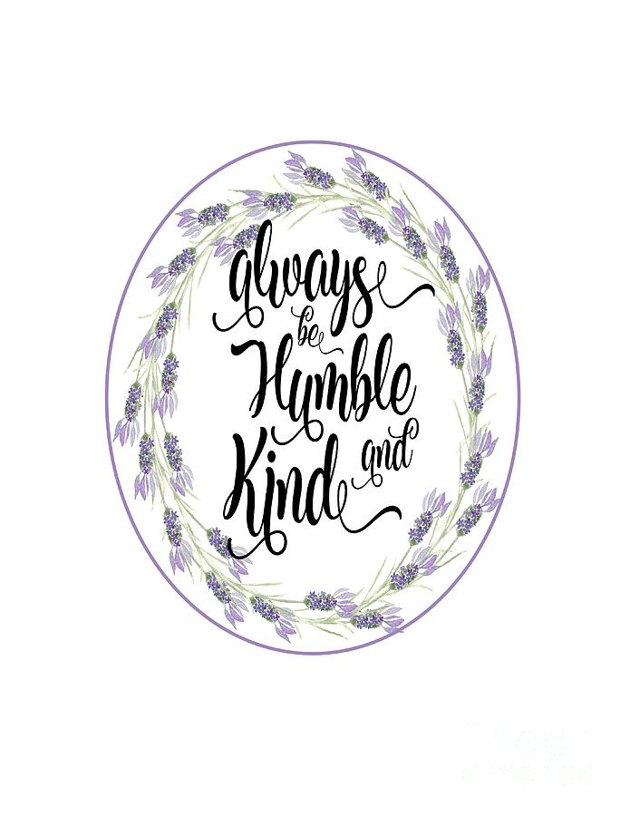 Humble and Kind by Judy Hall-Folde