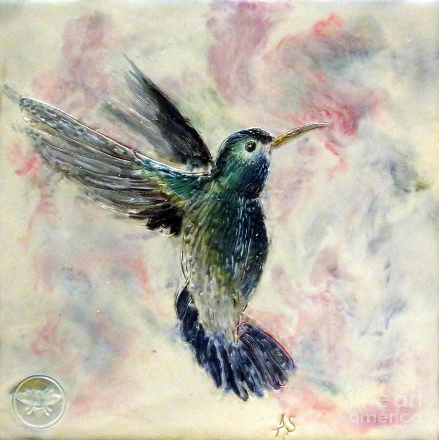Hummingbird Flight by Amy Stielstra