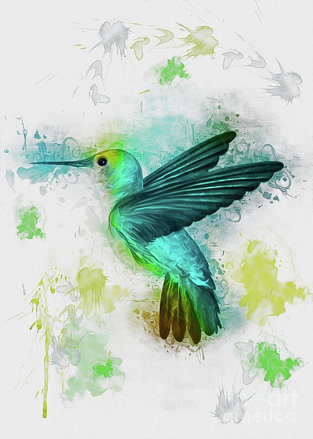 Hummingbird by Ian Mitchell