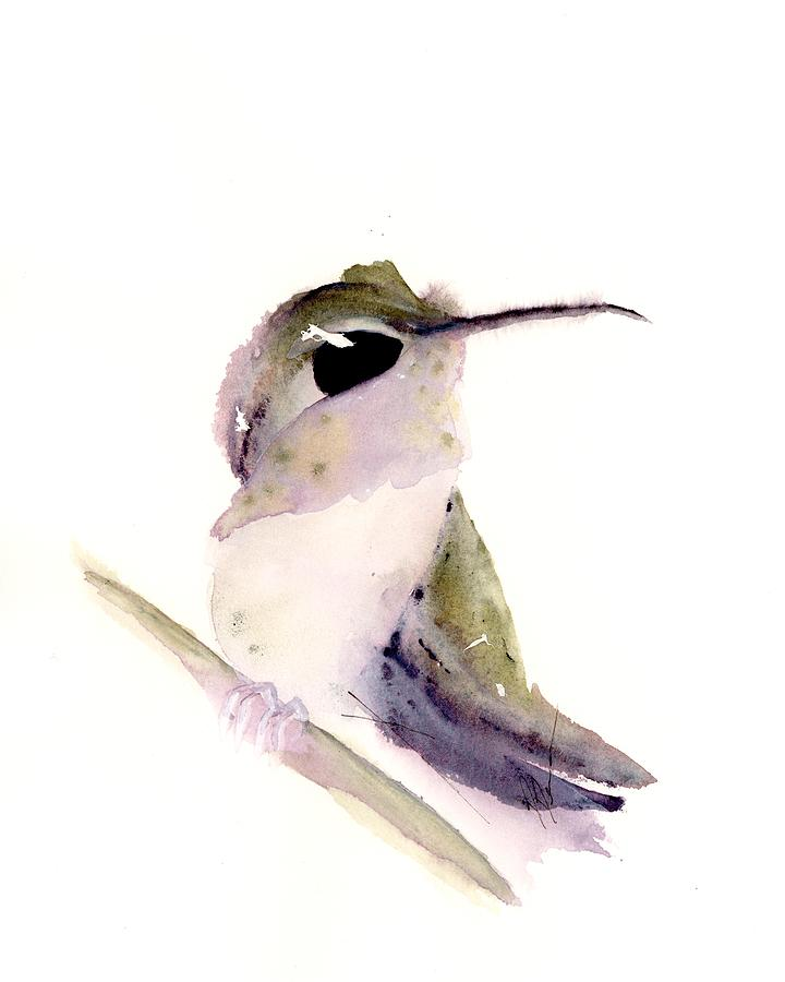 Hummingbird Series 2019 #2 by Dawn Derman