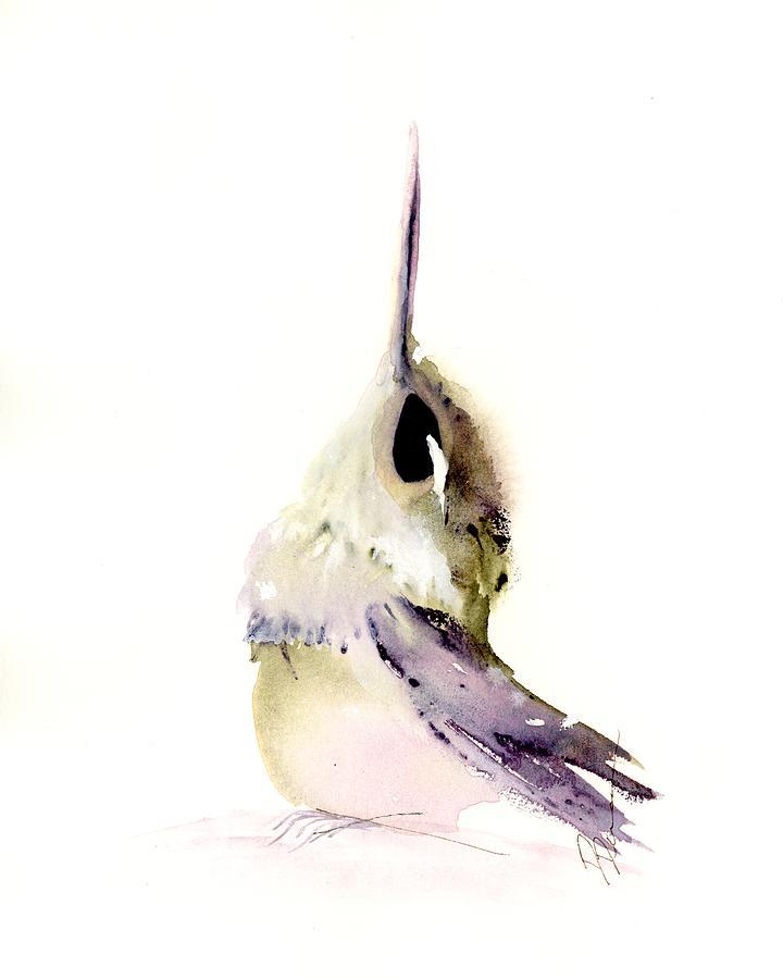 Hummingbird Series 2019 #3 by Dawn Derman