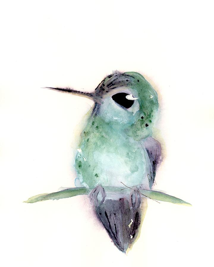 Hummingbird Series 2019 #4 by Dawn Derman