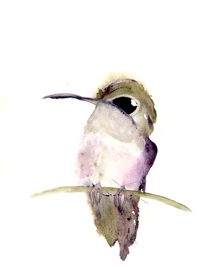Hummingbird Series 2019 #5 by Dawn Derman