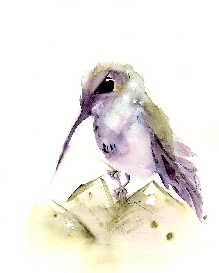 Hummingbird Series 2019 #6 by Dawn Derman